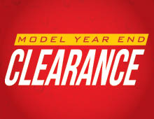 2018 Model Year End Clearance